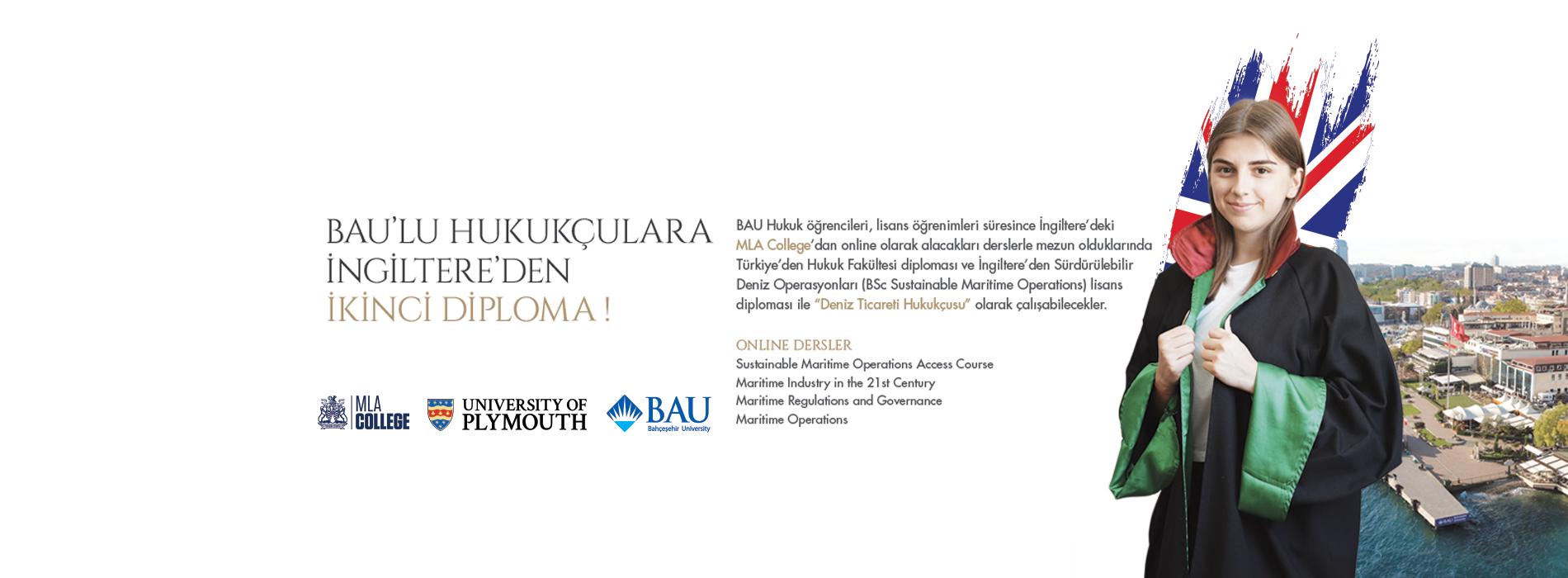 BAU'lu Hukukçulara İngiltere'de İkinci Diploma Fırsatı