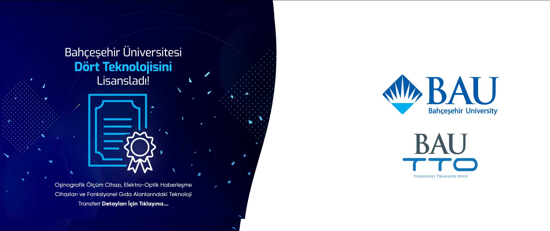 Bahçeşehir Üniversitesi 4 Teknolojisini Lisansladı