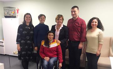 3 Aralık Dünya Engelliler Günü'nde Anlamlı Ziyaret