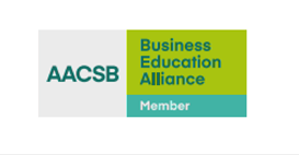 Our faculty is a member of the International Business Schools Association (AACSB International - The Association to Advance Collegiate Schools of Business: aacsb.edu/about) as of 2021.
