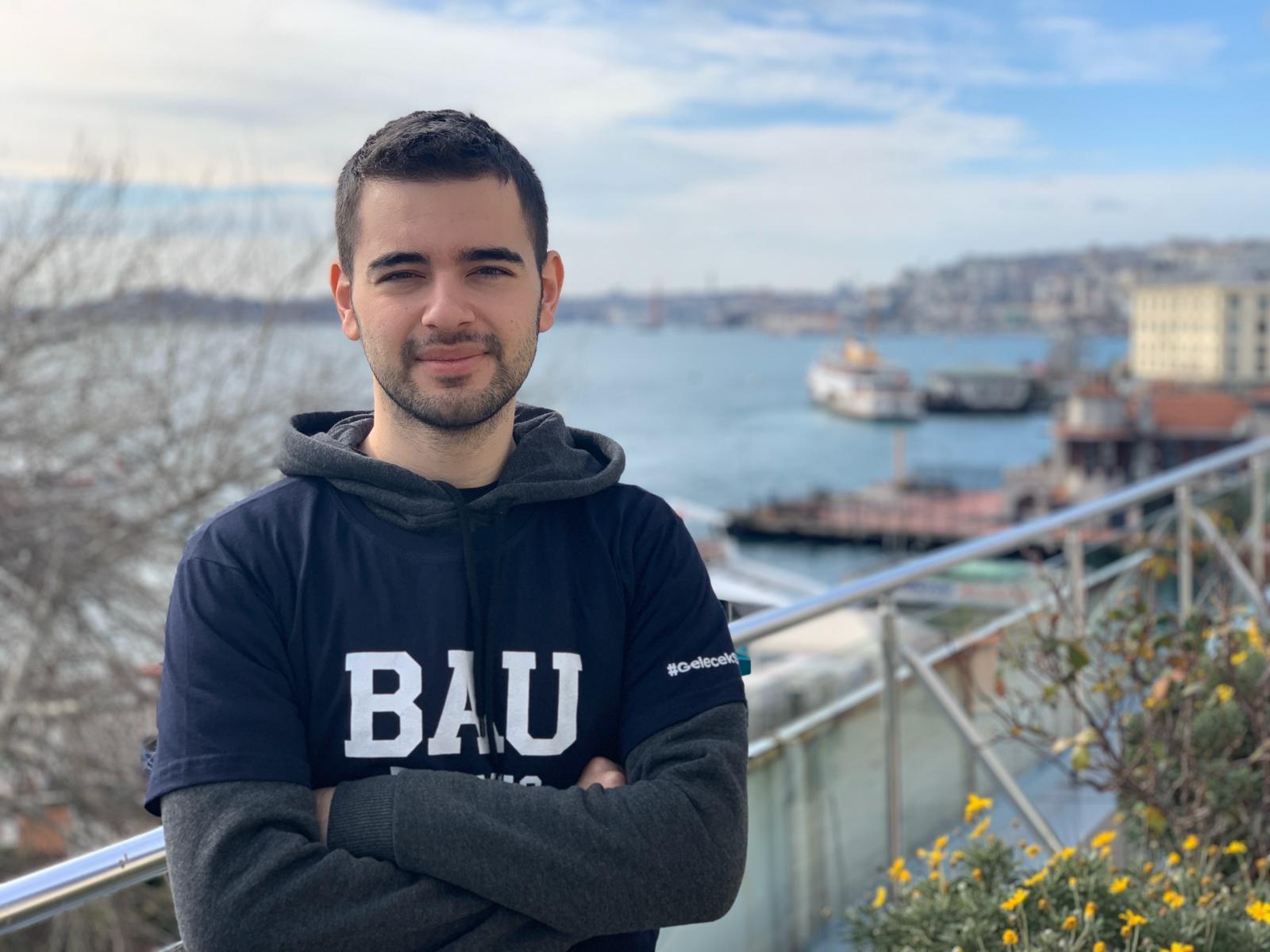BAUlu öğrenci Microsoft Corparation'un Tek Türk Partner Öğrencisi Oldu
