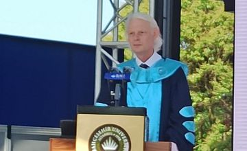 Graduation Enthusiasm at FEASS: Our Dean Addressed the Graduates