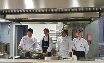 Güney Koreli Şefler ve Türk Öğrenciler Aynı Mutfakta Buluştu