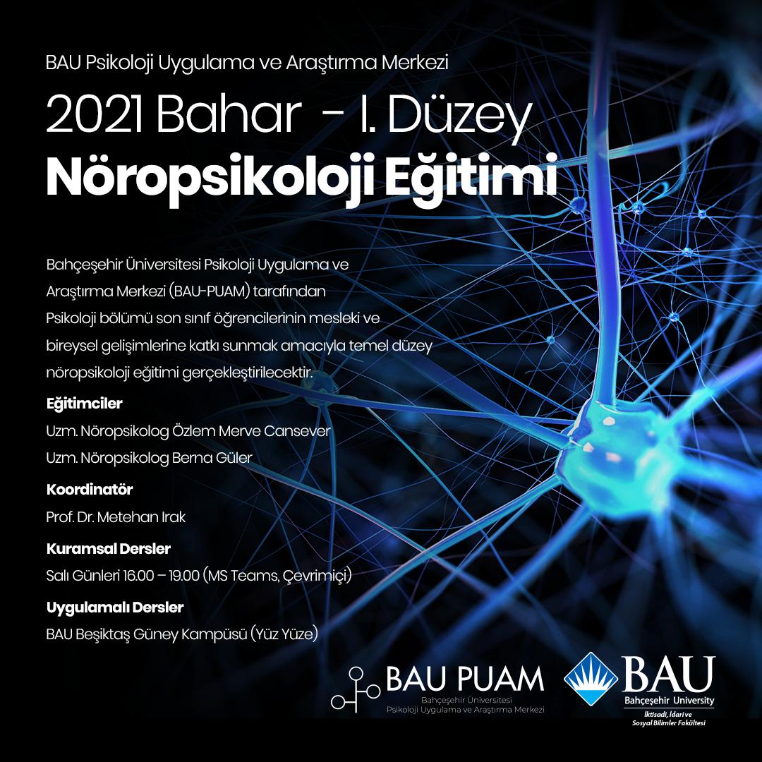 I.Düzey Nöropsikoloji Eğitimi