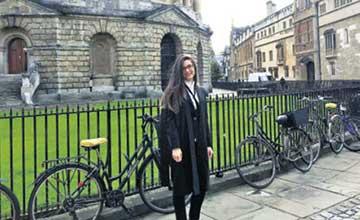 BAU'dan Mezun Oxford'da Öğrenci New York'ta Avukat