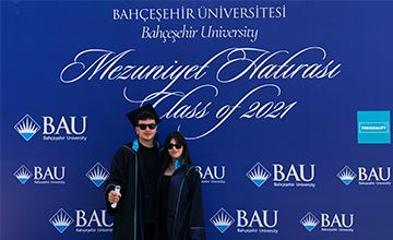 BAU İletişim Fakültesi Mezuniyet Töreni Düzenlendi